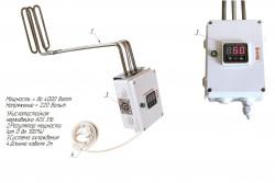 Погружной ТЭН с электронным регулятором мощности