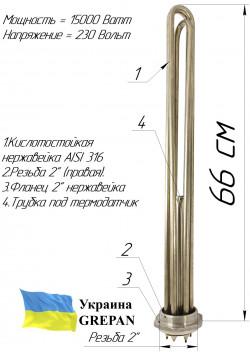 """Блок-ТЭН 15,0 кВт 2"""""""