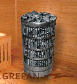Нагреватель для сауны GREPAN 4,5 кВт (4 ТЭНа)